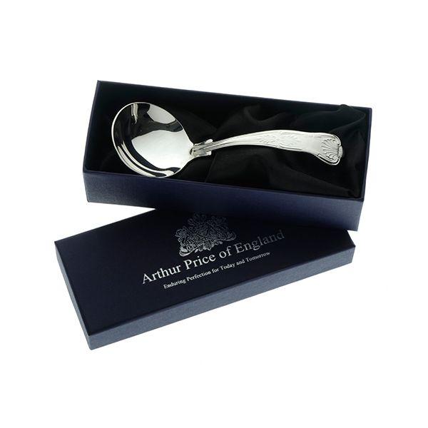 Arthur Price of England Sovereign Silver Cream Ladle Kings