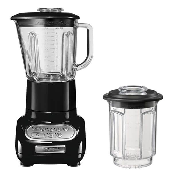 KitchenAid Artisan Onyx Black Blender with Culinary Jar