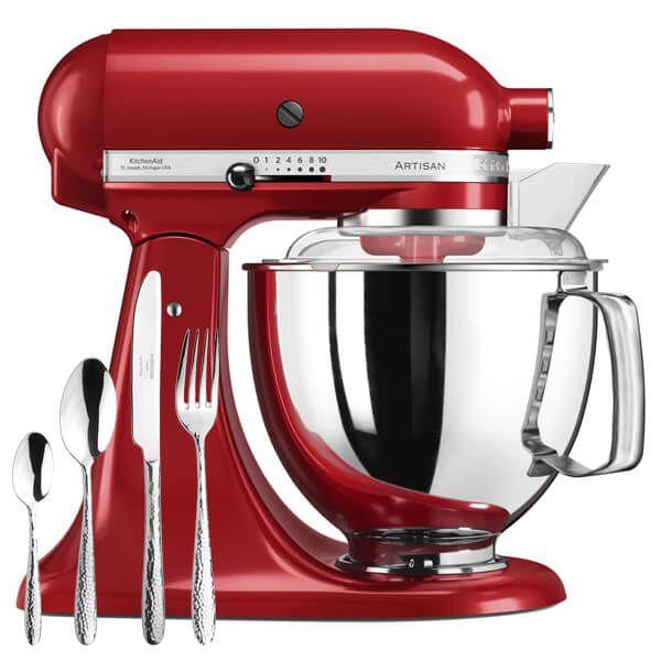 KitchenAid Artisan Mixer 175 Empire Red with FREE Gift