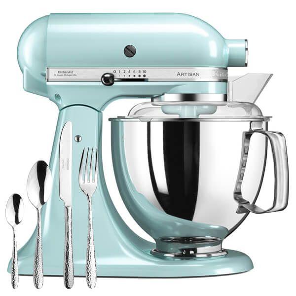 KitchenAid Artisan Mixer 175 Ice Blue with FREE Gift