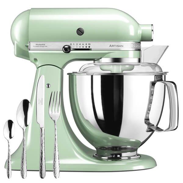 KitchenAid Artisan Mixer 175 Pistachio with FREE Gift