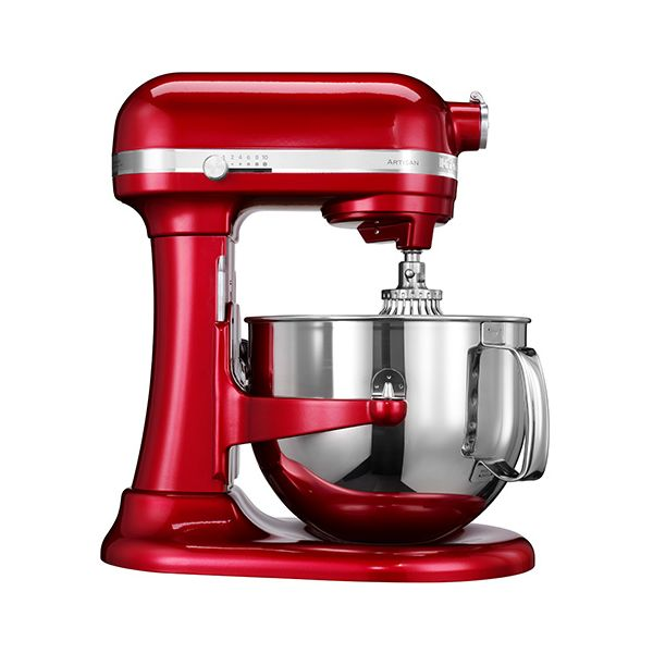 KitchenAid Artisan Candy Apple 6.9L Bowl Lift Food Mixer