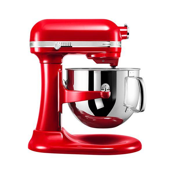 KitchenAid Artisan Empire Red 6.9L Bowl Lift Food Mixer