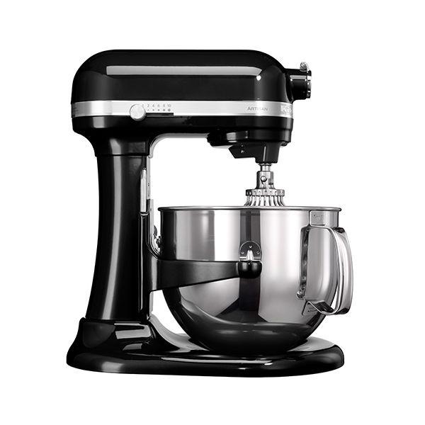 KitchenAid Artisan Onyx Black 6.9L Bowl Lift Food Mixer