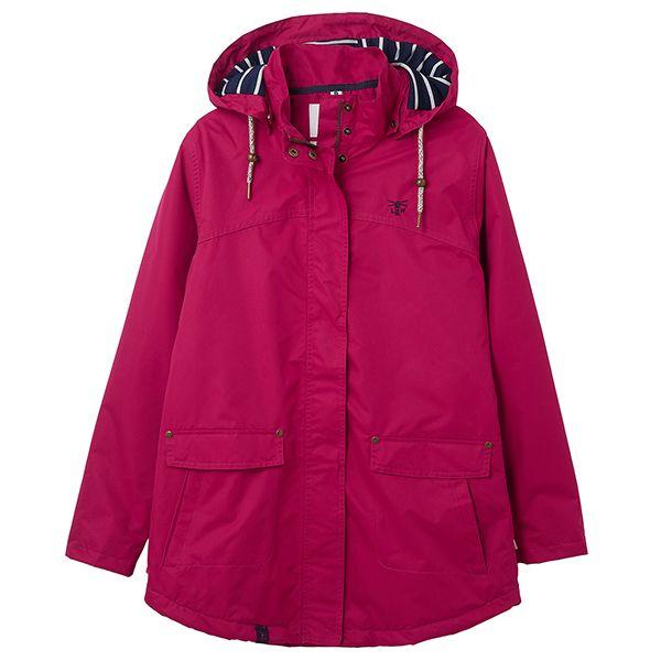 Lighthouse Raspberry Iona Ladies Coat