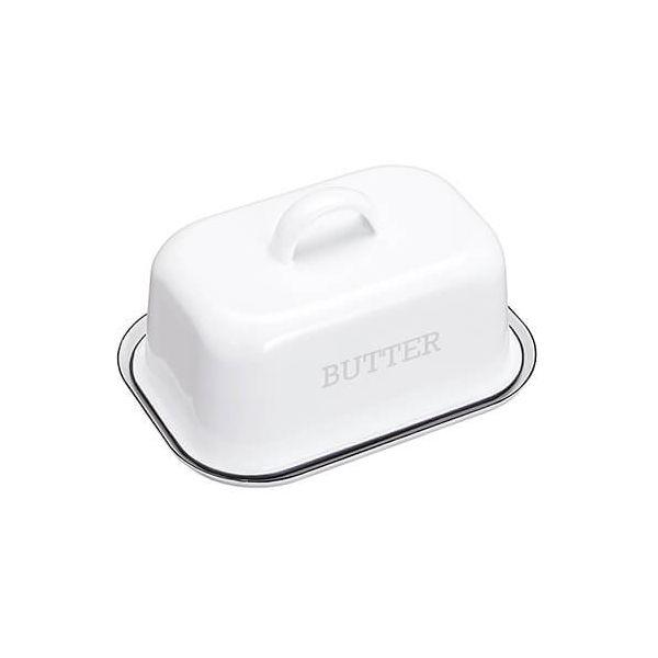 Living Nostalgia Enamel Butter Dish