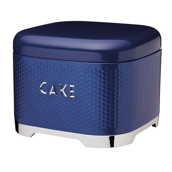 Lovello Retro Midnight Blue Textured Cake Tin