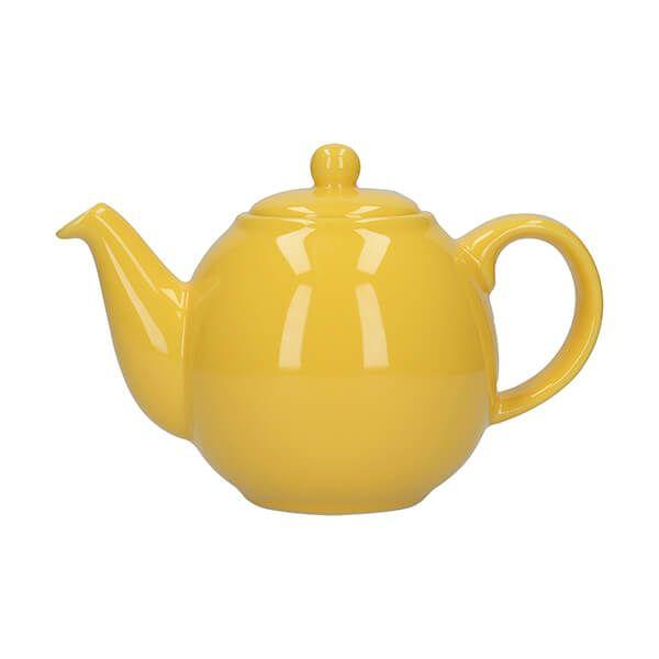 London Pottery Globe 2 Cup Teapot New Yellow