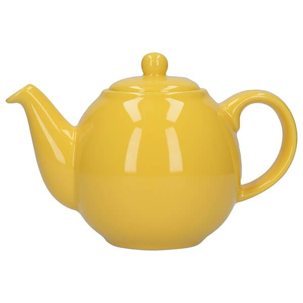 London Pottery Globe 6 Cup Teapot New Yellow