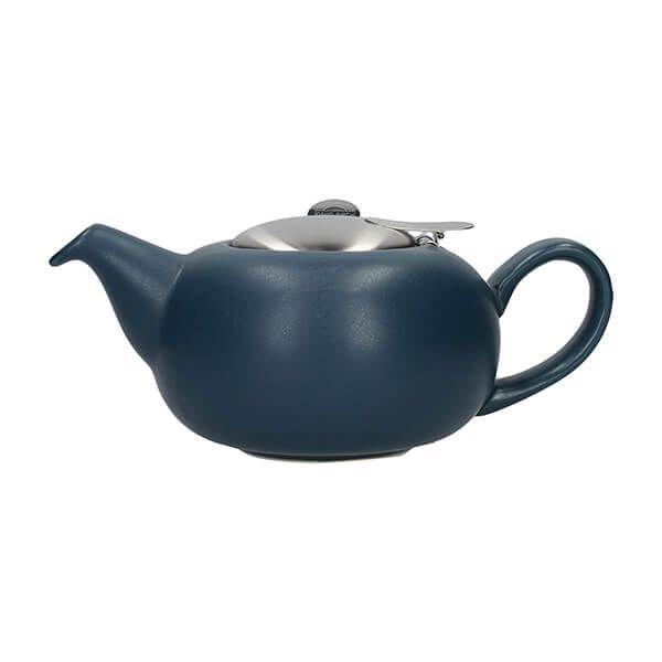 London Pottery Pebble Filter 2 Cup Teapot Slate