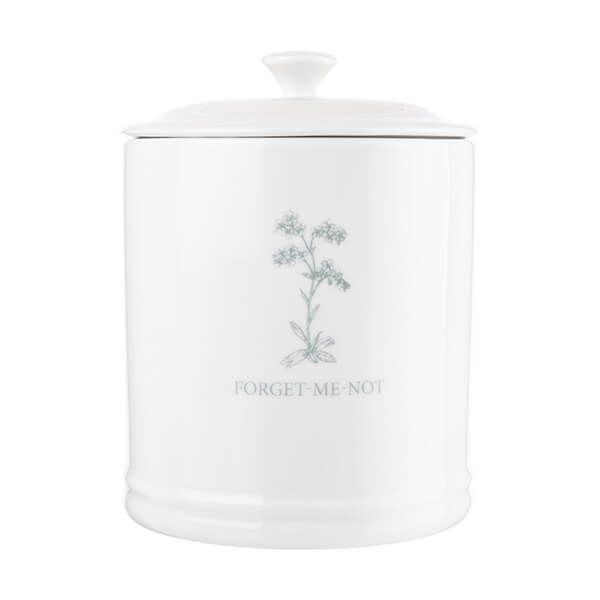Mary Berry English Garden Coffee Canister Forget Me Not