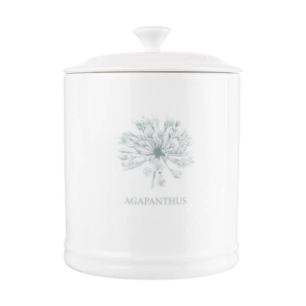 Mary Berry English Garden Sugar Canister Agapanthus