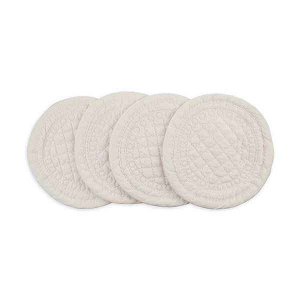 Mary Berry Signature Cotton Coaster Ivory Pack Of 4
