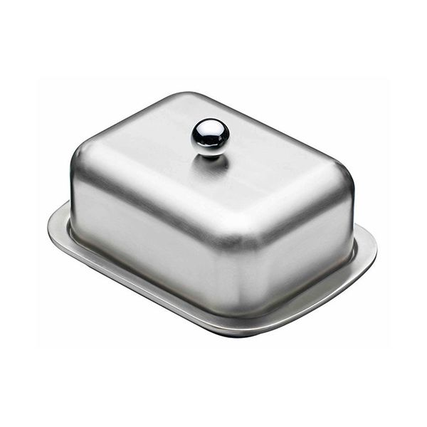 Master Class Deep Double Walled Insulated Butter Dish and Cover