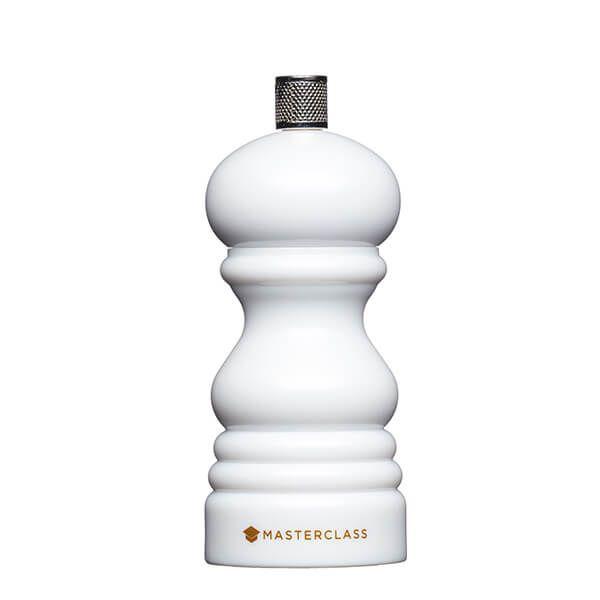 MasterClass White 12cm Salt or Pepper Mill