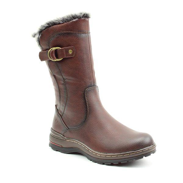 Heavenly Feet Chocolate Bramble Mid Calf Boots