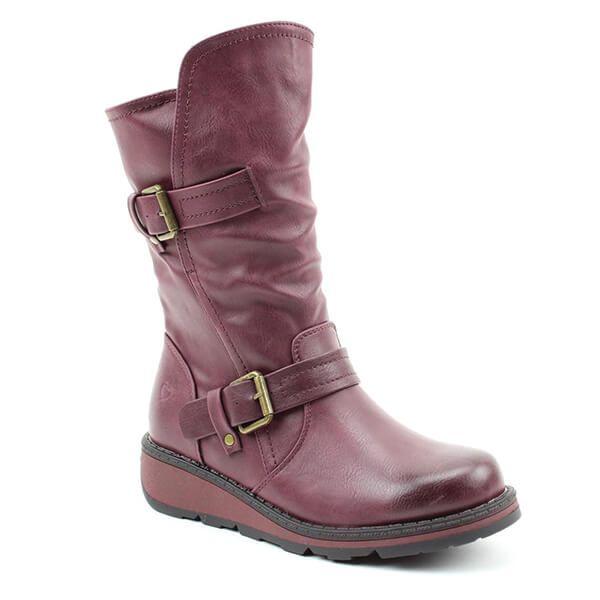 Heavenly Feet Berry Hannah Boots