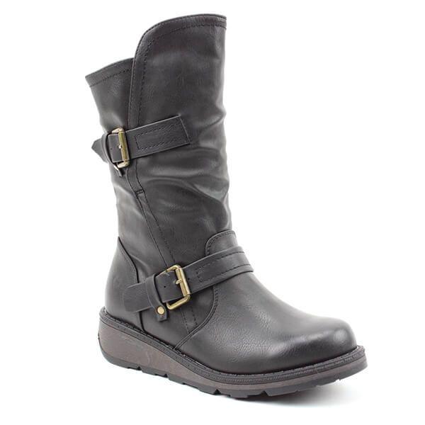 Heavenly Feet Black Hannah Boots