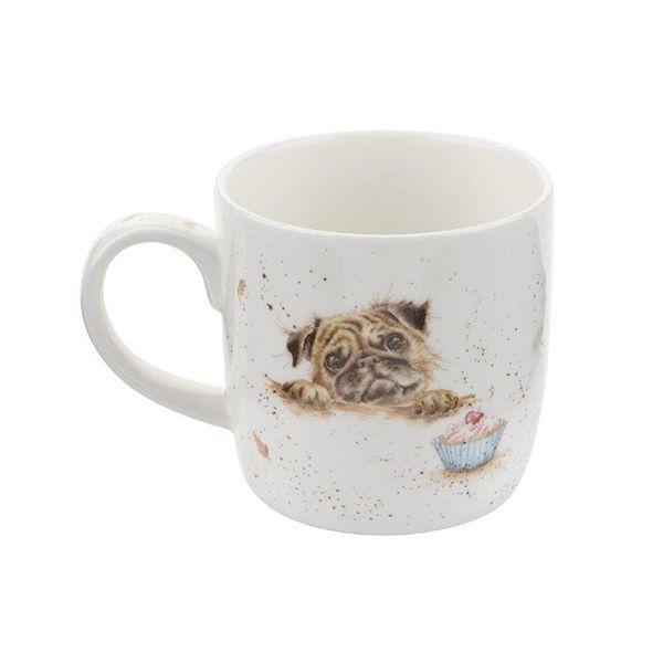 Wrendale Designs Fine Bone China Mug Pug Love 6 for 5