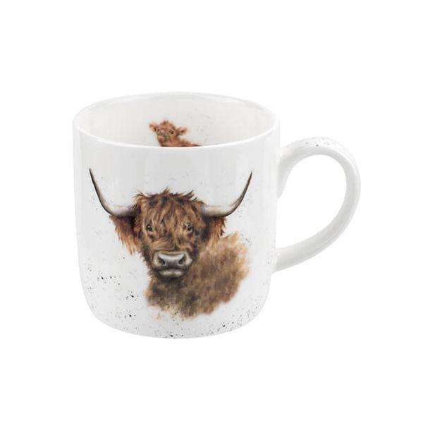 Wrendale Designs Highland Cow Mug 6 for 5