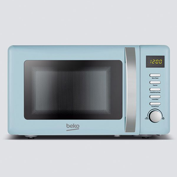Beko 800 Watt / 20 Litre Microwave Retro Mint