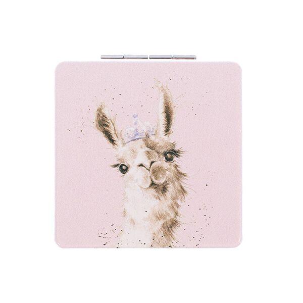 Wrendale Designs Llama Queen Mirror