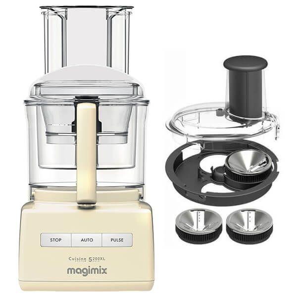 Magimix 5200XL Premium Cream Food Processor with FREE Gift