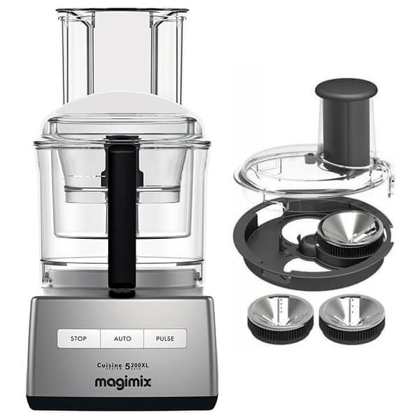 Magimix 5200XL Satin Food Processor with FREE Gift