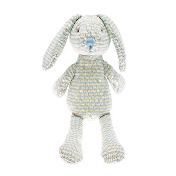 Walton & Co Nursery Knitted Stripe Rabbit Toy
