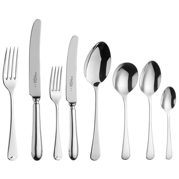 Arthur Price of England Sovereign Stainless Steel Old English 44 Piece Cutlery Box Set