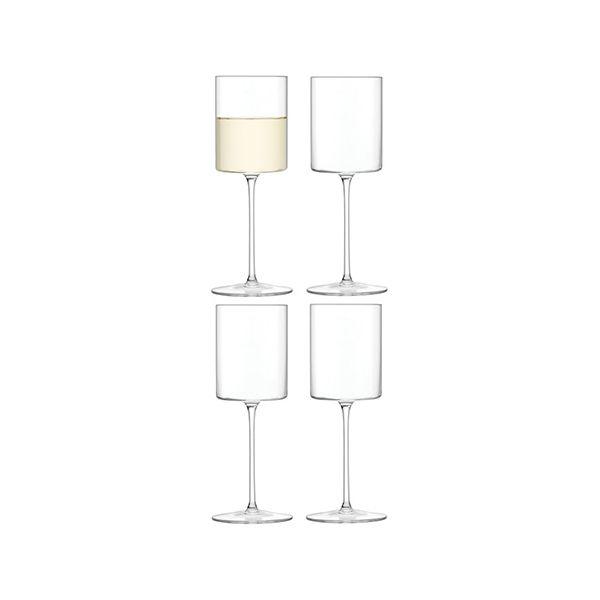 LSA Otis White Wine Glass 240ml Set Of 4