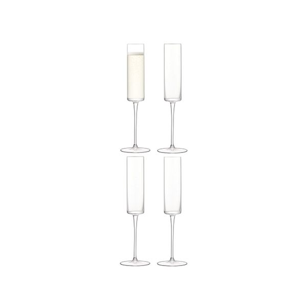LSA Otis Champagne Flute 150ml Set Of 4