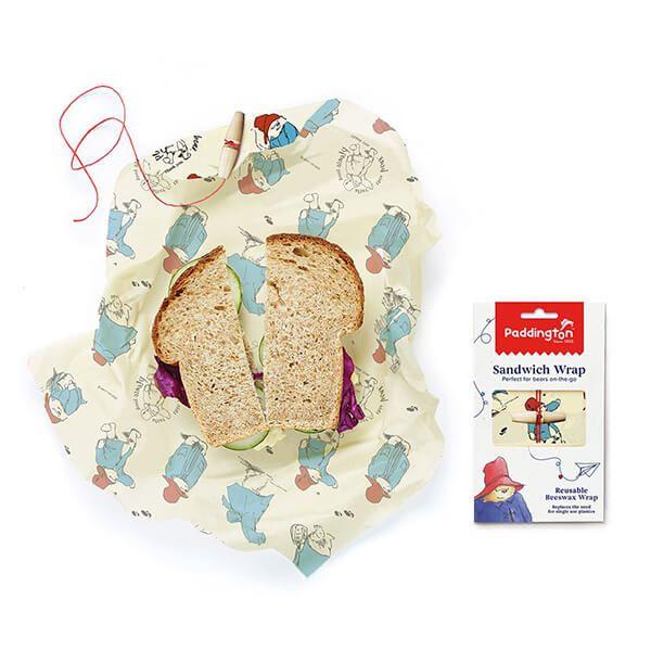 Paddington Bear Sandwich Beeswrap