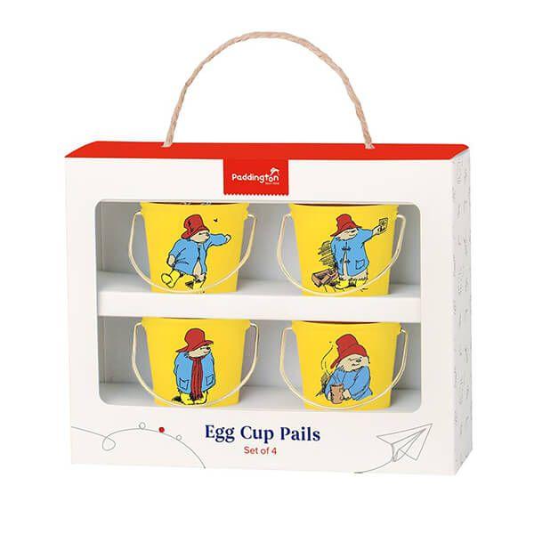 Paddington Bear Egg Cup Pails Yellow
