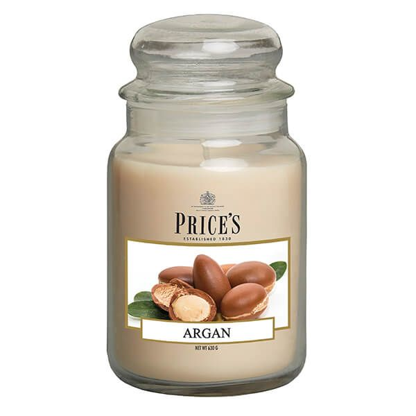 Prices Fragrance Collection Argan Large Jar Candle