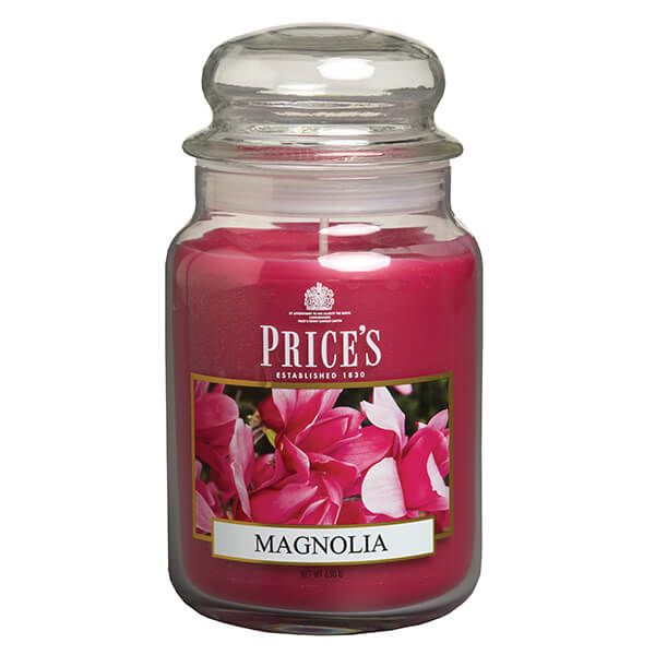 Prices Fragrance Collection Magnolia Large Jar Candle