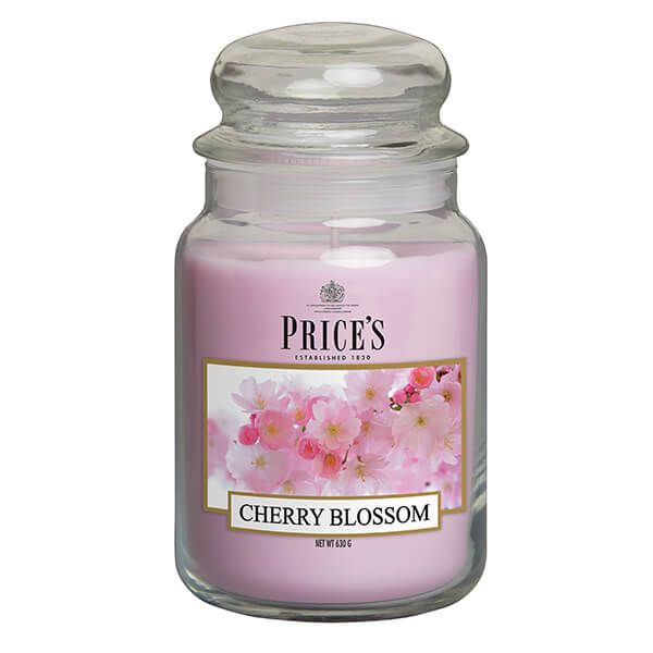 Prices Fragrance Collection Cherry Blossom Large Jar Candle