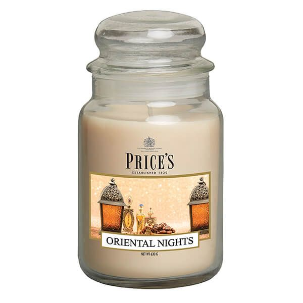 Prices Fragrance Collection Oriental Nights Large Jar Candle