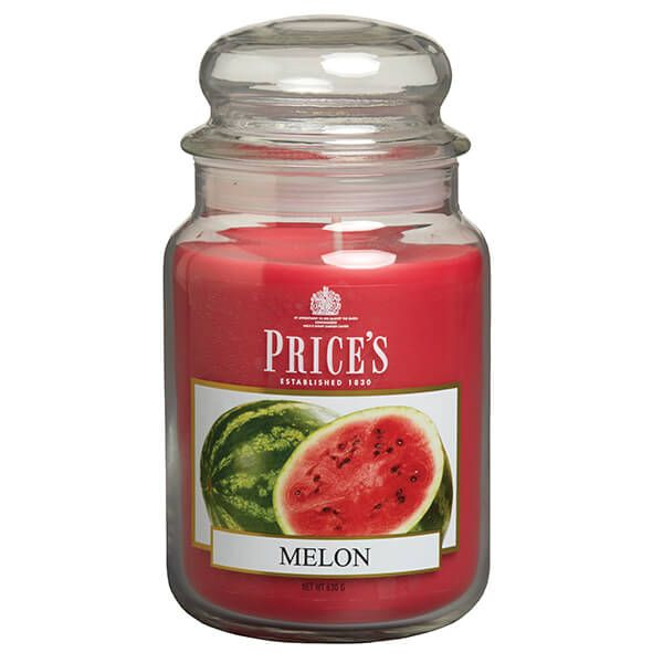 Prices Fragrance Collection Melon Large Jar Candle