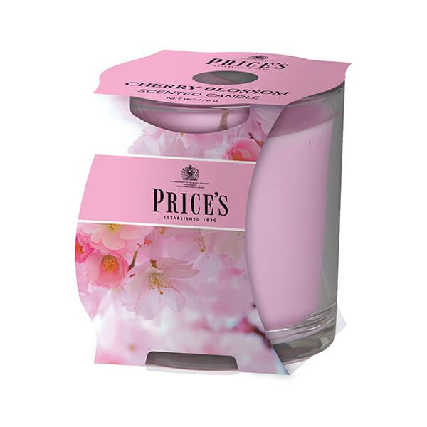 Prices Fragrance Collection Cherry Blossom Cluster Jar Candle