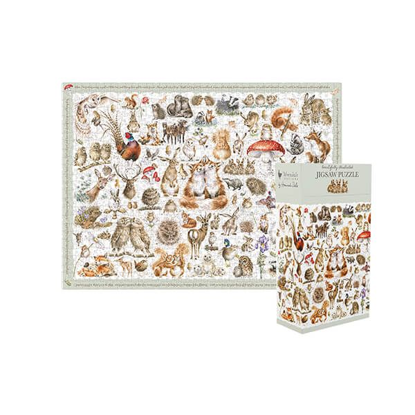 Wrendale Designs Country Set Puzzle
