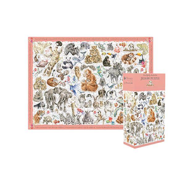 Wrendale Designs Zoology Puzzle