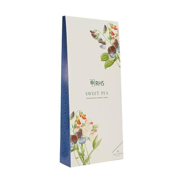 Wax Lyrical RHS Fragrant Garden Sweet Pea Drawer Liners
