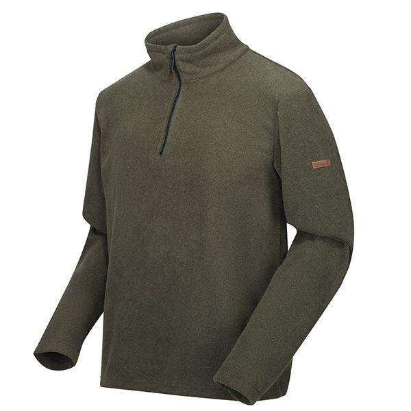 Regatta Dark Khaki Edley Half Zip Two Tone Fleece
