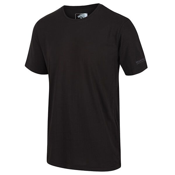 Regatta Men's Tait Lightweight Active T-Shirt Black