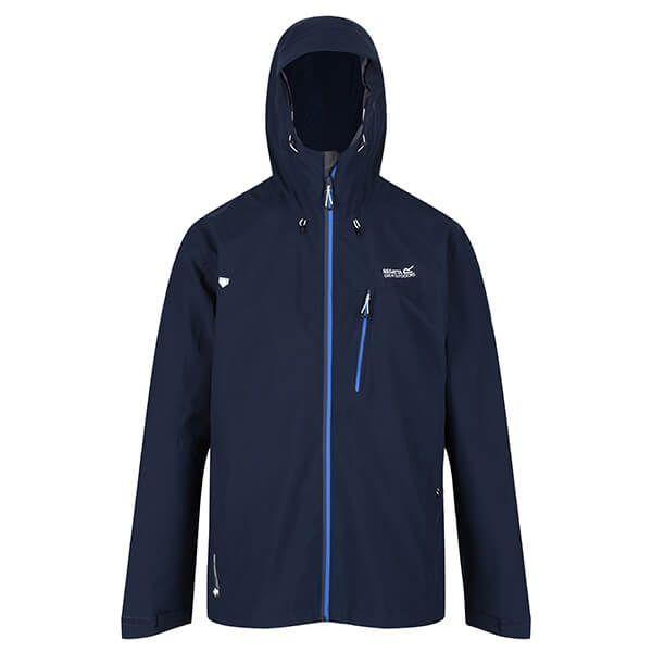 Regatta Men's Birchdale Waterproof Jacket Navy Nautical Blue