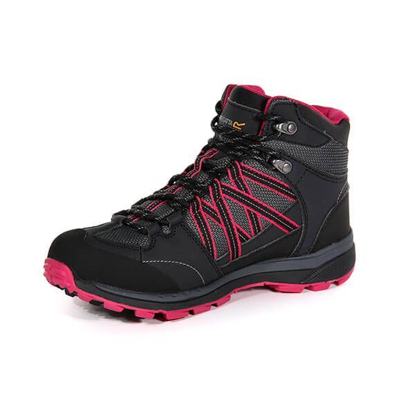 Regatta Women's Samaris II Mid Walking Boots Briar Dark Cerise
