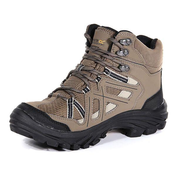 Regatta Women's Burrell II Hiking Boots Walnut Parchment