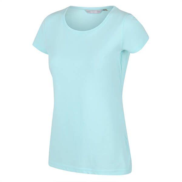 Regatta Women's Carlie Coolweave T-Shirt Cool Aqua