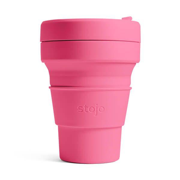 Stojo Brooklyn Peony Collapsible Pocket Cup 12oz/355ml